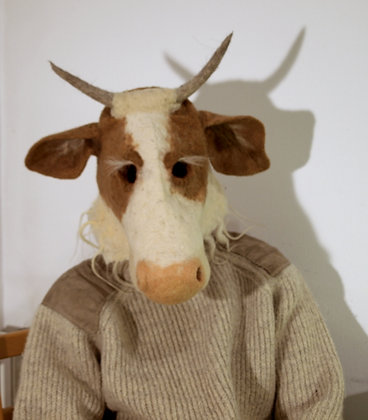 Holy cow mask