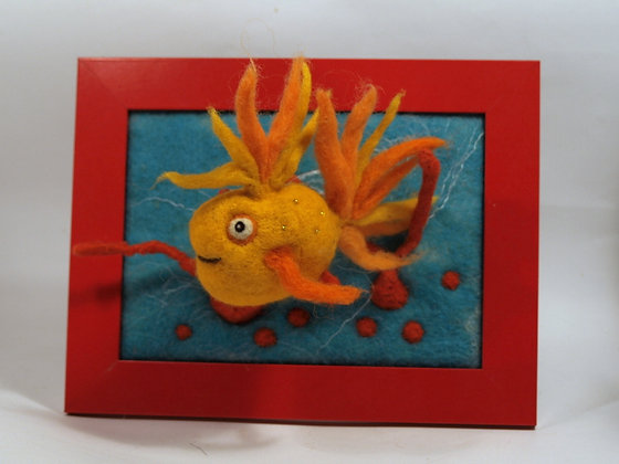 Framed Gold fish