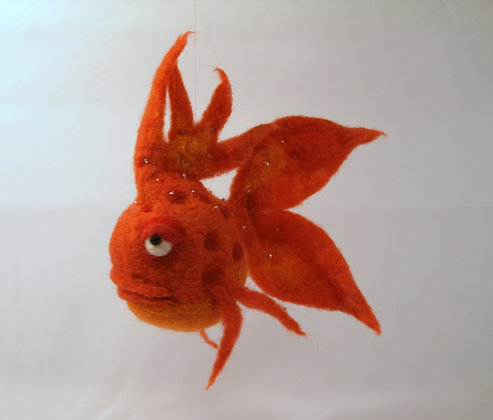 Romeo Scented Needle Felted Fish