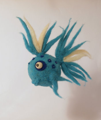 Duke Scented Needle Felted Fish
