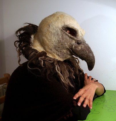Griffon vulture mask