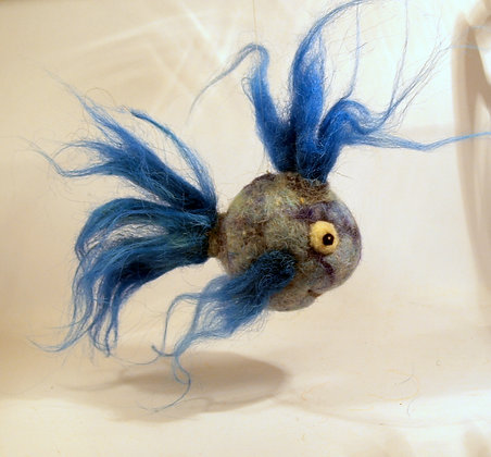 Fozzy Scented Needle Felted Fish