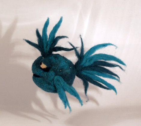 Babel Scented Needle Felted Fish