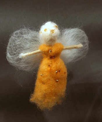 Fluffy tangerine fairy