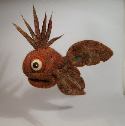 Adelia Scented Needle Felted Fish