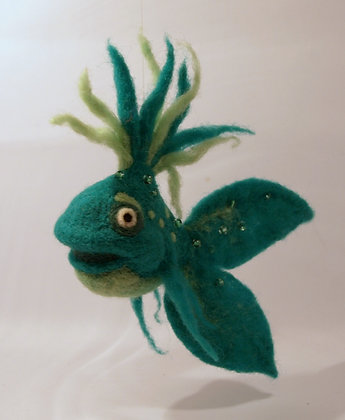 Camillo Scented Needle Felted Fish
