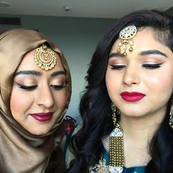 Asian glamour party makeup