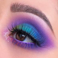 colourful makeup