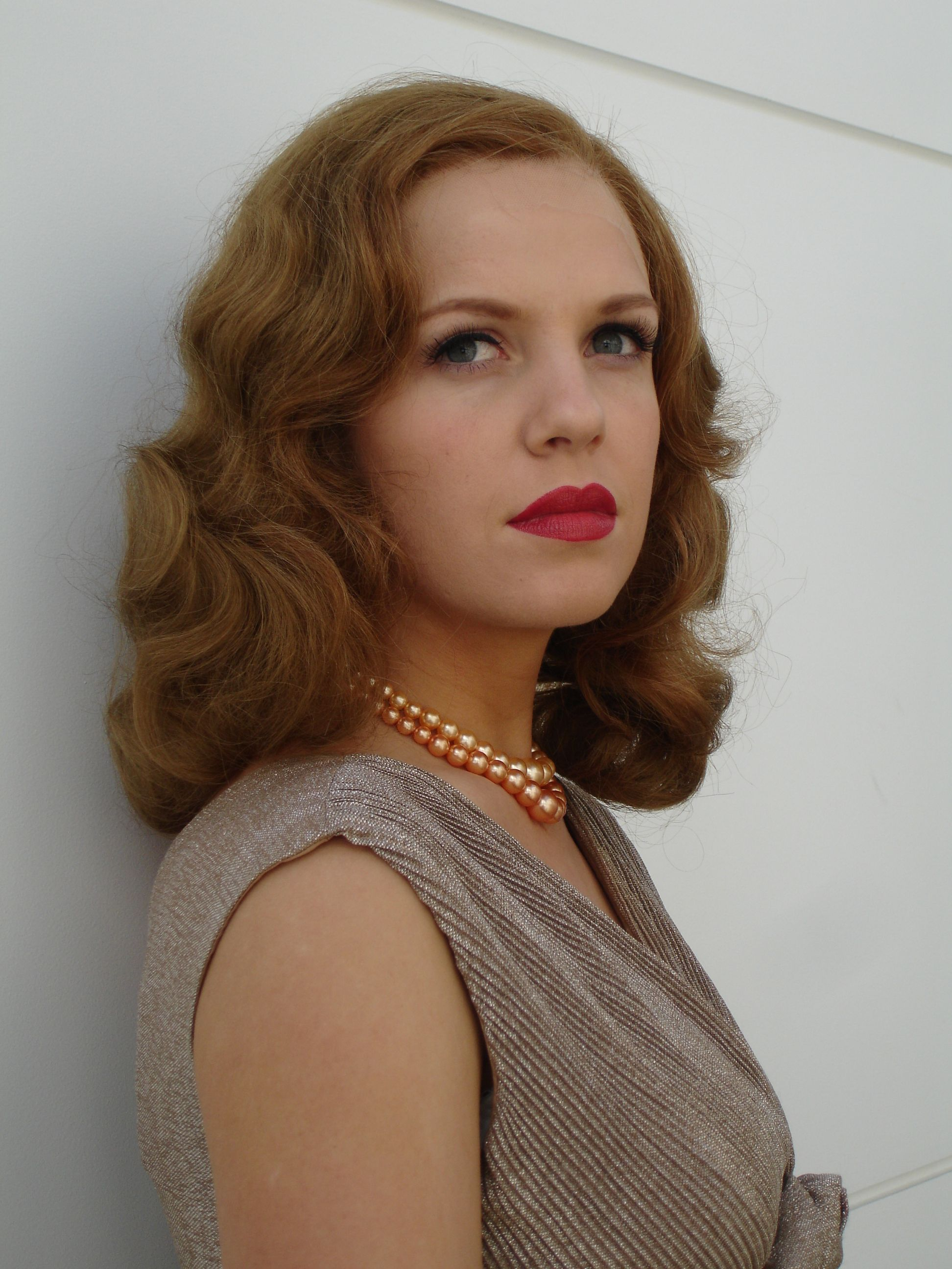 40's Glamour Wave Wig