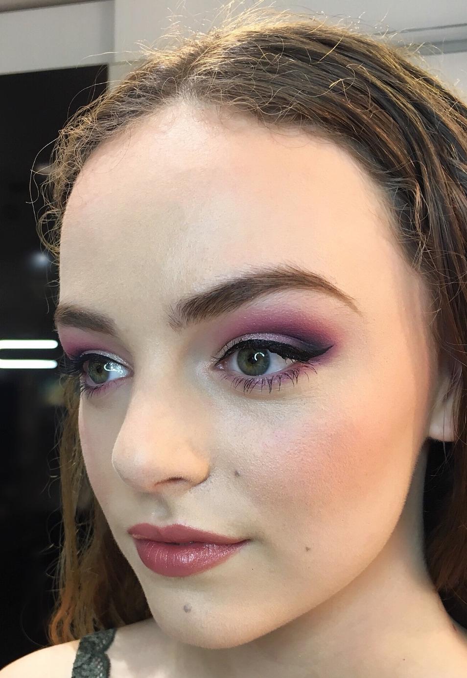 beauty prom makeup
