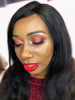 glamour dark skin makeup