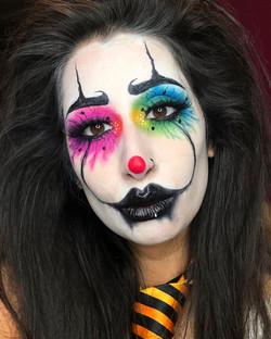 Halloween Pretty Clown Makeup