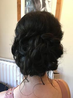 bridesmaid hair hampshire