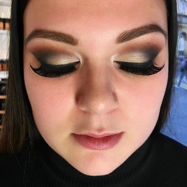 full glamour makeup