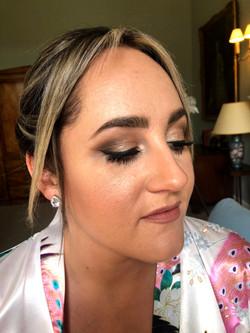 bridesmaid makeup Hampshire