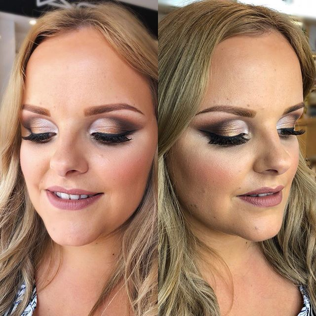 festival glamour makeup