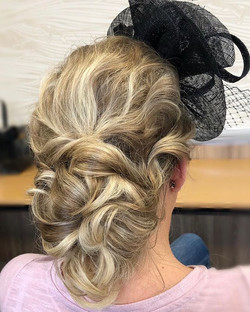 low bun soft hairstyle