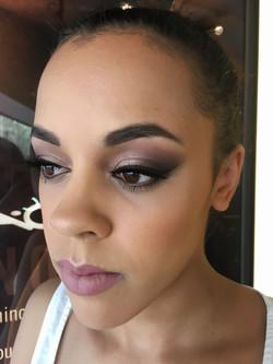 glamorous prom makeup darker skin