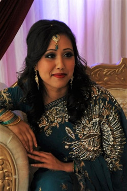 wedding guest glamour makeup