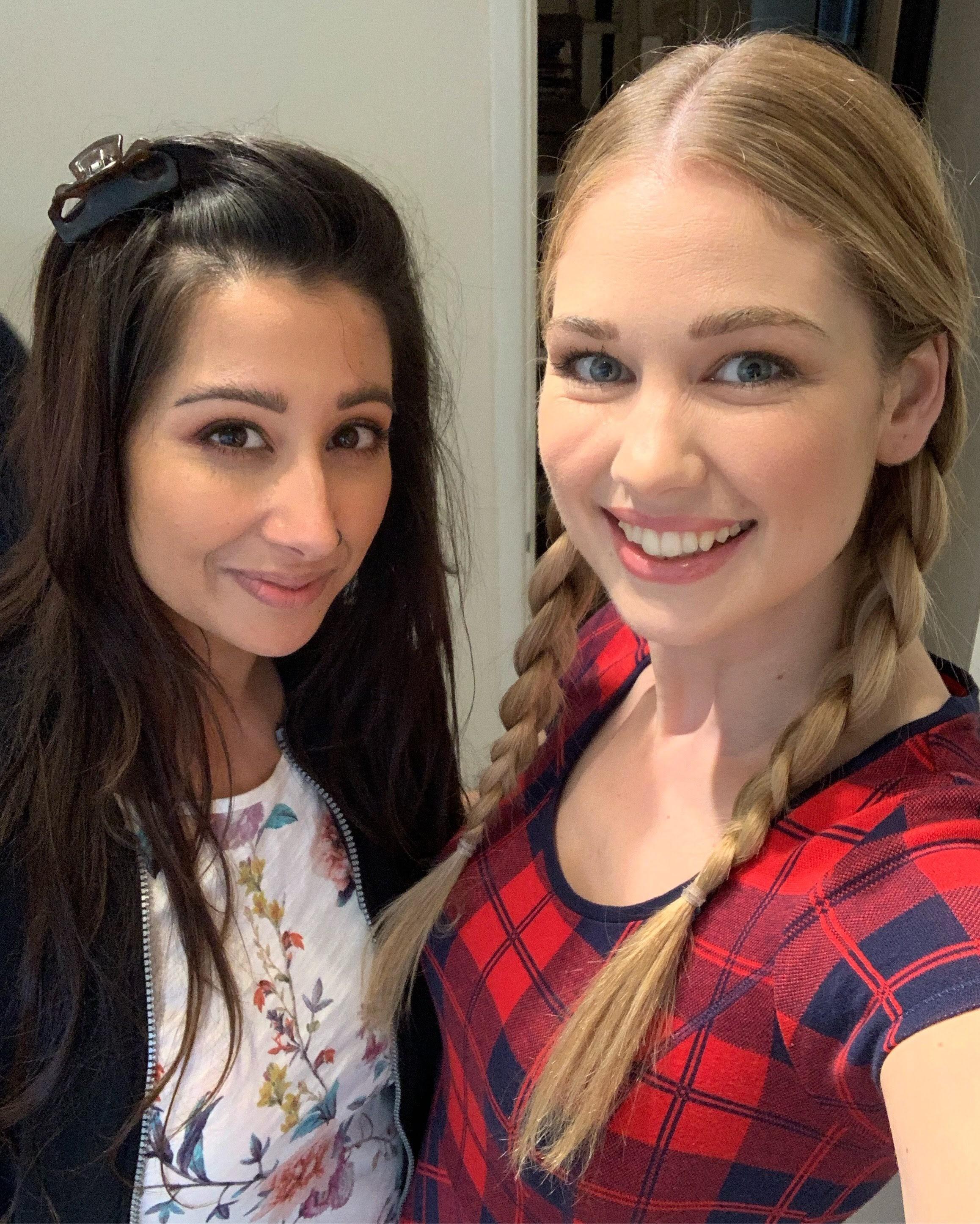Amanda Clapham hair and makeup