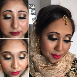 full glamour hair and makeup