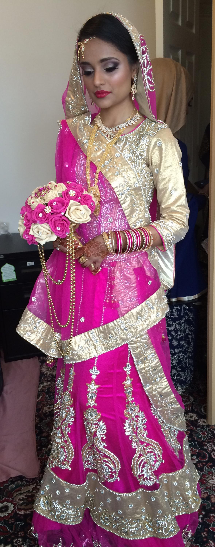 Asian Bridal Hair and Makeup Bournemouth