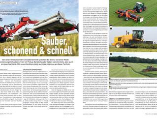 Pick-up Schwader Trendbericht von traction-Magazin