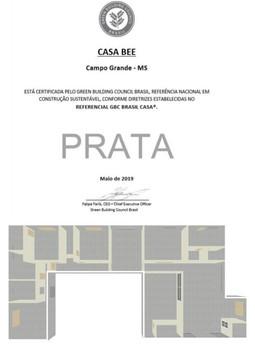 CASA BEE - GBC Casa Prata