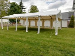 Tente  modulable montée en 6x10m