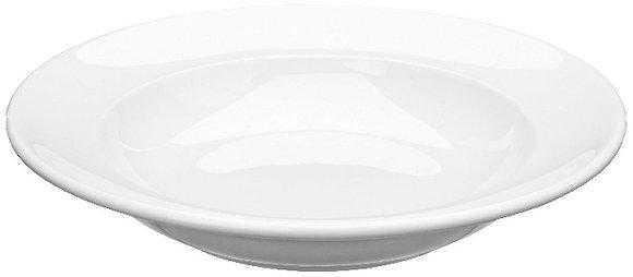 Assiette creuse rebord plat