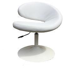 Location fauteuil design blanc pas cher