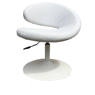 RIKILA EVENTS Paris Location fauteuil design blanc cuir pas cher