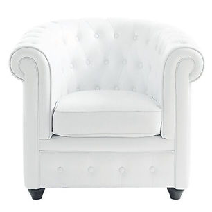 RIKILA EVENTS Paris Location fauteuil chesterfield blanc pas cher