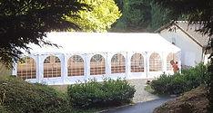 RIKILA EVENTS Paris Location tente rectangulaire 128 m2 pas chere