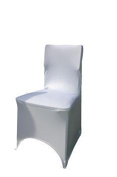 RIKILA EVENTS Paris Location housse chaise lycra blanche pas chere