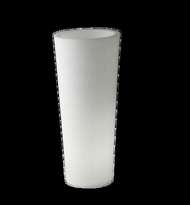 Pot de fleurs cylindrique