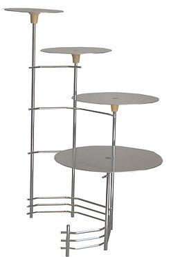 Location presentoir a gateau metal 4 niveaux pas cher