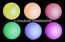 RIKILA EVENTS Paris Location boule lumineuse pas chere