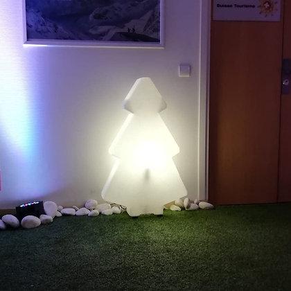 Sapin Lumineux Blanc
