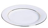 RIKILA EVENTS Paris Location assiettes blanches filet or 21 cm