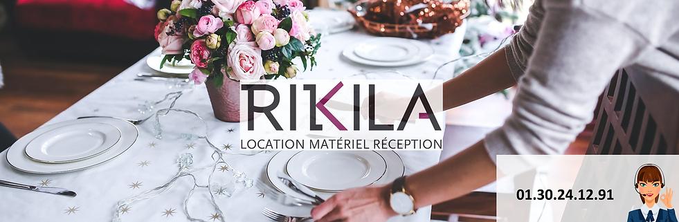 Bannière site Rikila Location site de loction de matériel de réception en Ile-De-France