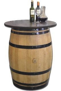 Tonneau de vin en fût de chêne