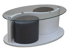 table basse verre design