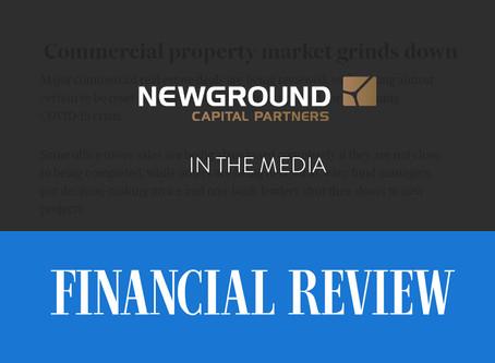 Commercial Property Market Grinds Down