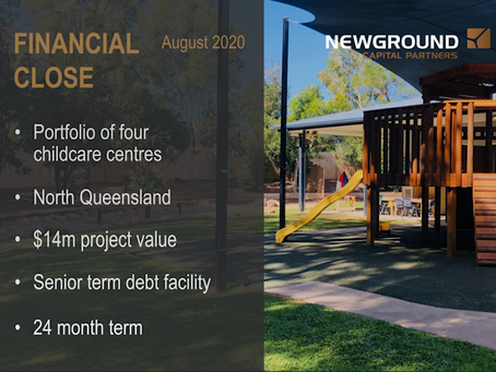Childcare | Financial Close August 2020
