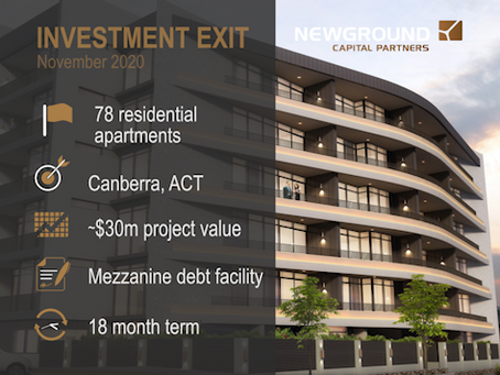 Curzon Apartments | Investment Exit