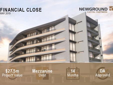 Curzon Apartments   Financial Close May 2019