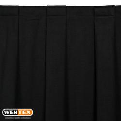 MCS curtain pleated