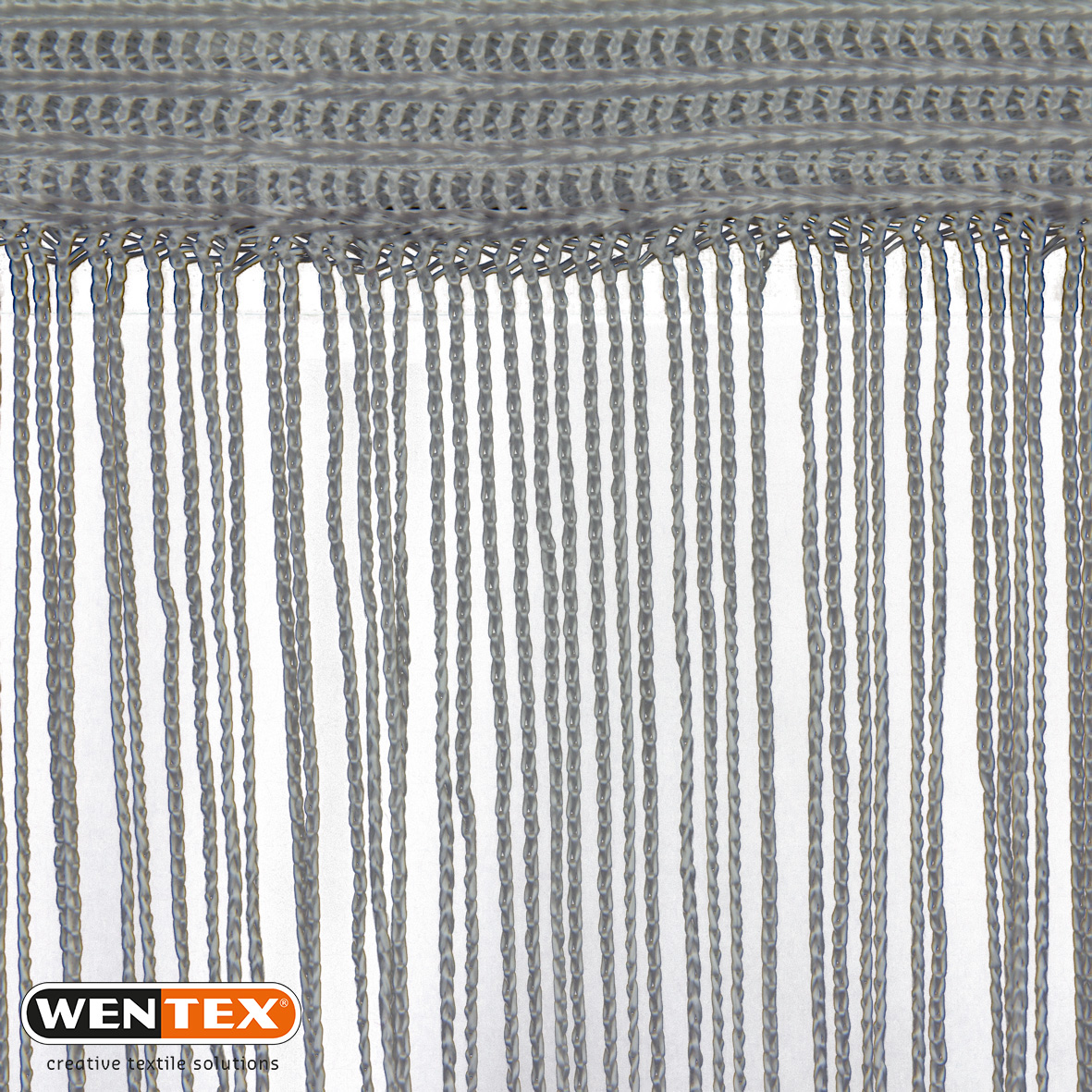 Spaghetti Curtain silver/grey