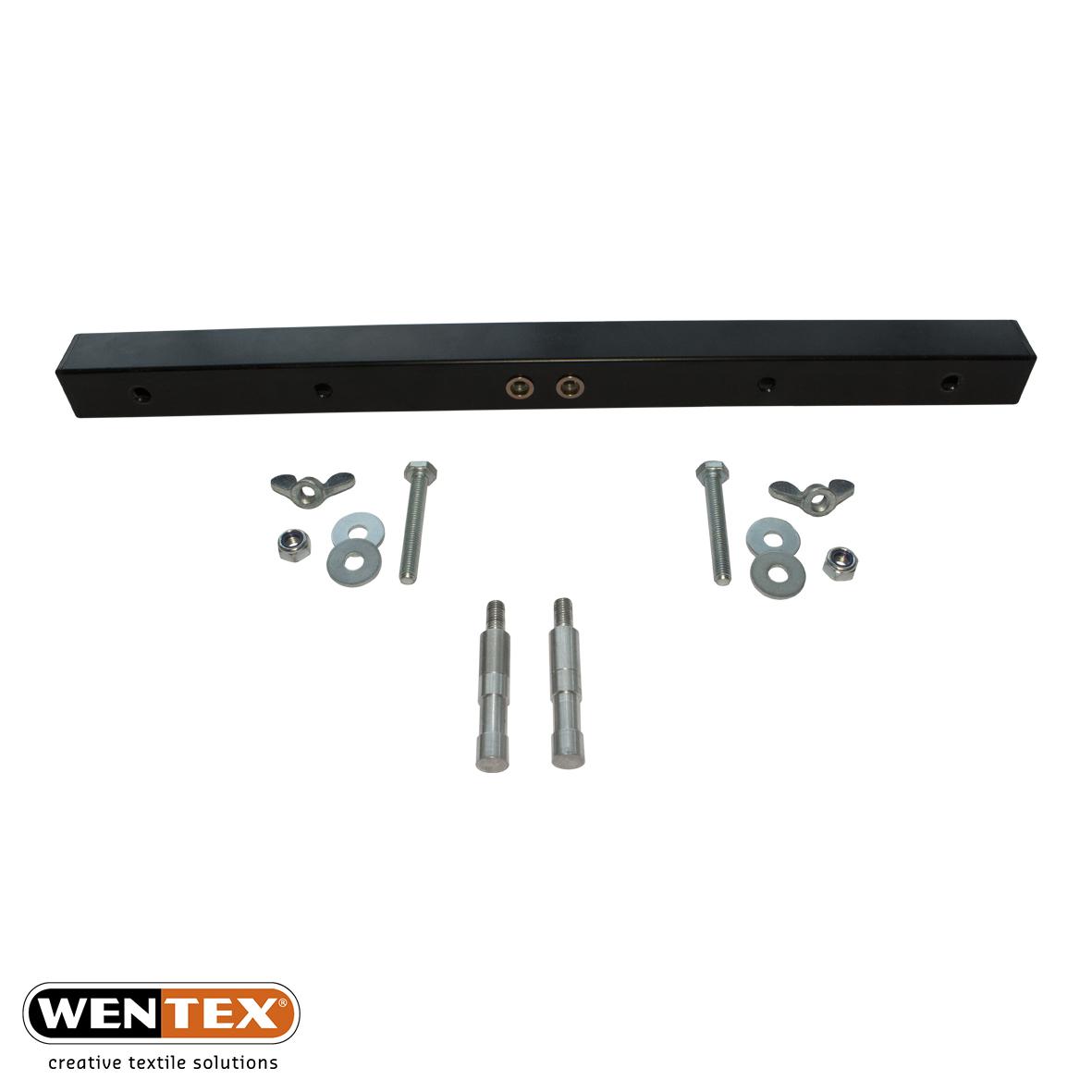 T-bar wiht screws and spigots